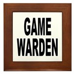Game Warden Framed Tile