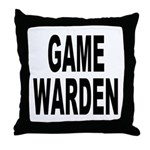 Game Warden Throw Pillow