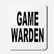 Game Warden Mousepad