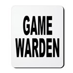 Game Warden Mousepad