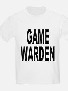 Game Warden (Front) Kids T-Shirt