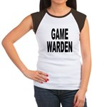 Game Warden (Front) Women's Cap Sleeve T-Shirt