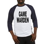 Game Warden (Front) Baseball Jersey