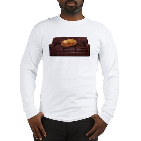 Couch Potato Long Sleeve T-Shirt