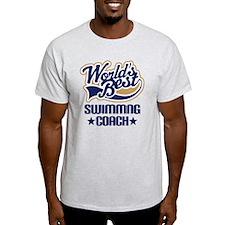 Swimming Coach (Worlds Best) T-Shirt