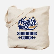 Swimming Coach (Worlds Best) Tote Bag