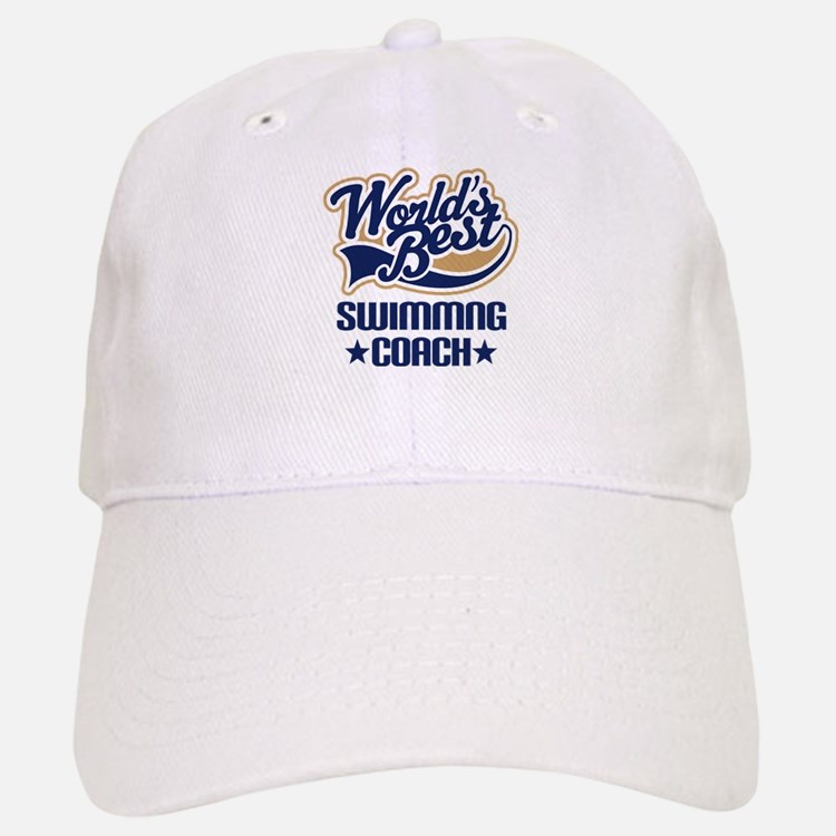 Swimming Coach (Worlds Best) Baseball Baseball Cap