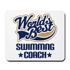 Swimming Coach (Worlds Best) Mousepad