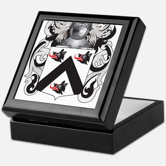 Pierce Coat of Arms (Family Crest) Keepsake Box