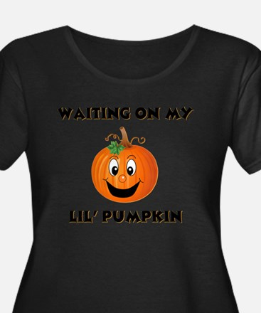 pumpkin maternity Plus Size T-Shirt