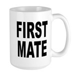 First Mate Large Mug