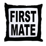 First Mate Throw Pillow
