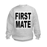 First Mate (Front) Kids Sweatshirt