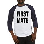 First Mate (Front) Baseball Jersey