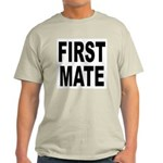First Mate (Front) Ash Grey T-Shirt
