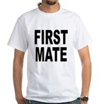 First Mate (Front) White T-Shirt