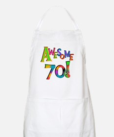 Awesome 70 Birthday Apron