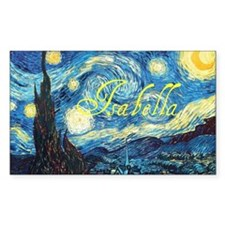 Isabella Starry Night Decal