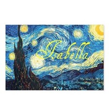 Isabella Starry Night Postcards (Package of 8)