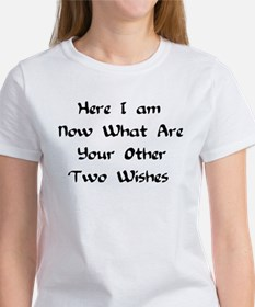 Here I Am Now What Are Your Other Two Wishes Women