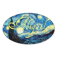 Abigail Starry Night Decal