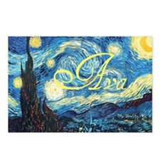 Ava Starry Night Postcards (Package of 8)