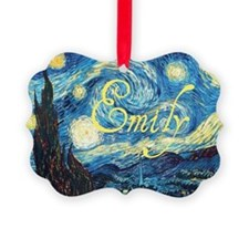 Emily Starry Night Ornament