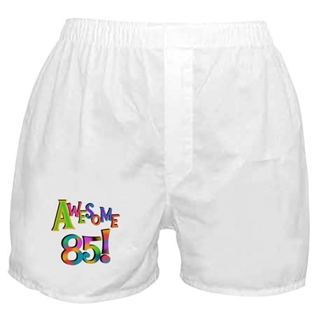 Awesome 85 Birthday Boxer Shorts