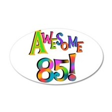 Awesome 85 Birthday Wall Decal