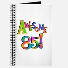 Awesome 85 Birthday Journal