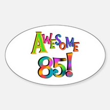 Awesome 85 Birthday Decal