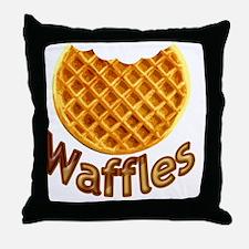 Waffles Throw Pillow