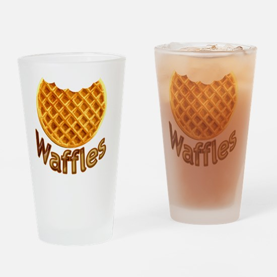 Waffles Drinking Glass