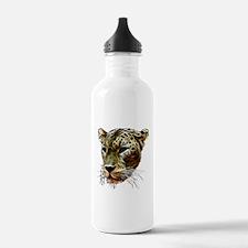 Cat Leopard Head Water Bottle