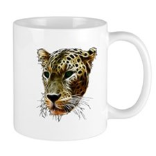 Cat Leopard Head Mugs