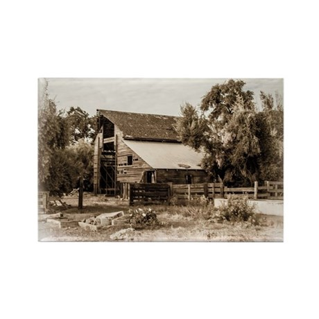 The Barn Rectangle Magnet