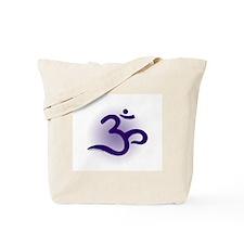 Purple OM Tote Bag