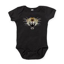 Roaring Cat Leopard Baby Bodysuit