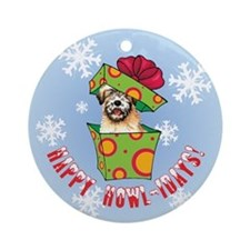 Holiday Wheaten Ornament (Round)