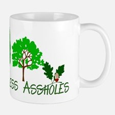 More Trees Less Assholes Mug