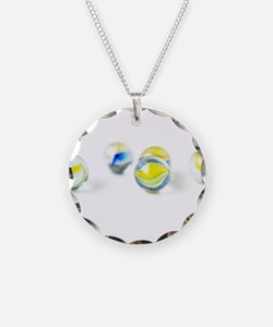 Colorful Marbles Necklace