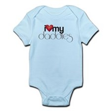 i 3 my daddies Body Suit