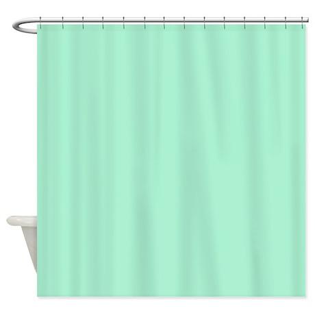 magic mint green shower curtain by makanahele1