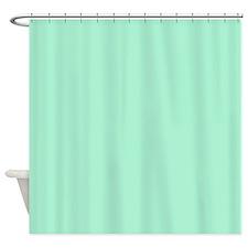 Magic Mint Green Shower Curtain