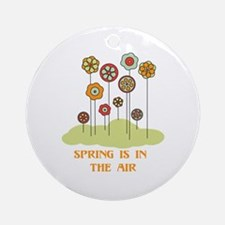 Spring Is In The Air Ornament (Round)