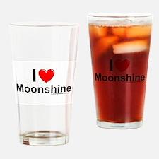 Moonshine Drinking Glass