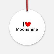 Moonshine Ornament (Round)