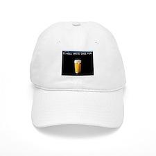 Will Write Code For Beer Baseball Cap