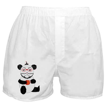 Hipster Panda Boxer Shorts