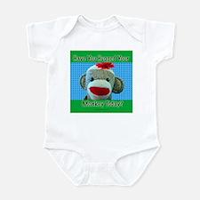 Hugged Monkey? Infant Bodysuit